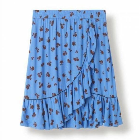 aa859942f33 GANNI Skirts   Roseburg Crepe Skirt   Poshmark